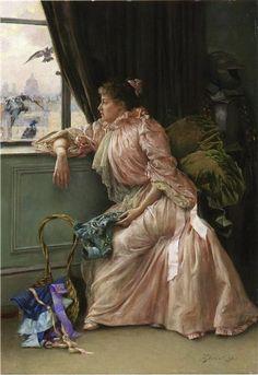 Room with a View, 1895 - Julius LeBlanc Stewart