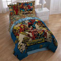 perfect! from walmart.com Marvel Hero Bedding Comforter