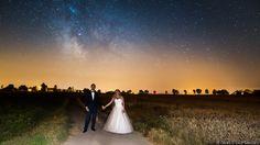 Zakończenie pleneru ślubnego pod gołym niebem.