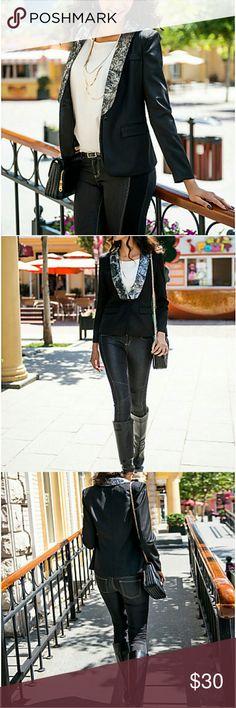 NWT Chic Black Blazer New Jackets & Coats Blazers