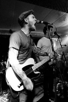 Brian Fallon and Alex Levine of the Gaslight Anthem