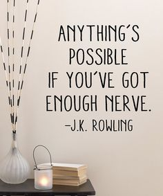 Love this 'Anything's Possible' Wall Quotes™ Decal by Wallquotes.com by Belvedere Designs on #zulily! #zulilyfinds