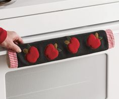Apple Appliance Handle Cover Set from Through the Country Door®