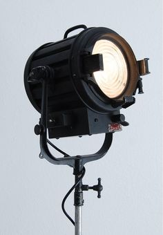 Unique vintage Spotlight on Rolling Stand  – We collect similar beauties – Only/Once – www.onlyonceshop.com