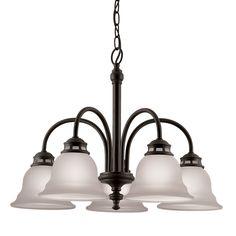 $44.98 Portfolio 5-Light Tavern Dark Oil-Rubbed Bronze Chandelier at Lowes.com