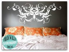 Urban Walls Decal Giveaway!  Look how pretty these are!  Enter at www.thenolaruth.com :)