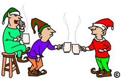 Size matters when it comes to taking a coffee break, this is why Santa Claus doesn't allow the elves too much coffee. Read more.