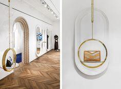 RECOLLECT VINTAGE   Current Inspiration . New Voinnet Store in Paris #vionnet #paris #interiordesign