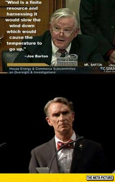 Bill Nye Is Not Impressed