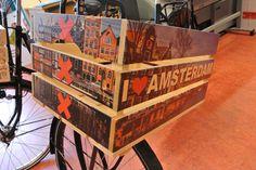 mooie Amsterdamse fietskrat