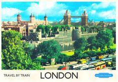 """vintage poster London"""