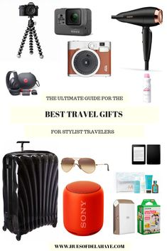 Best travel gifts for stylish travellers- This comprehensive travel gift guide is designed to help you find the best gift for the traveller in your life. Whether it's a quick weekend away or a trip of a lifetime, these are the best travel gifts curated Travel Advice, Travel Guides, Travel Tips, Travel Hacks, Travel Articles, Travel Packing, Travel Plan, Travel Europe, Travel Luggage