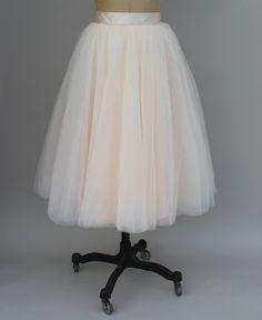 falda de tul