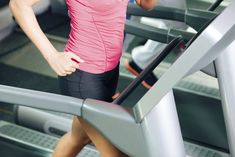 45-Minute Treadmill Interval Workout to Fight Belly Fat.  You get your heart rate going and it burns more fat, than spending hours on the treadmill.