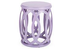 Hallie Stool, Lavender on OneKingsLane.com