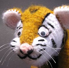 Tiger Crochet Pattern (pay $5.39)