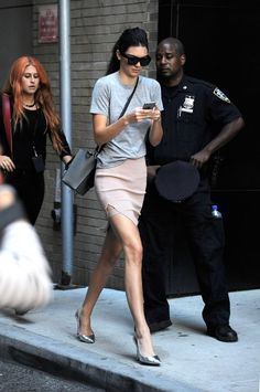 kendall jenner off duty model street style new york fashion week kardashian