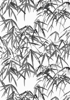 KYOTO LEAVES, Black, AT9870, Collection Nara from Anna French Chinoiserie Wallpaper, Chinoiserie Chic, White Beach Houses, Anna French, View Wallpaper, Wallpaper Ideas, Japanese Architecture, Japanese Design, Watercolor Techniques