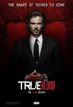 True Blood: The Final Season (Posters) by Emre Ünaylı, via Behance