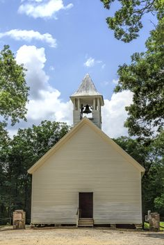 Church in Cades Cove. This was one of my Mom's favorite spots in the Smokies/