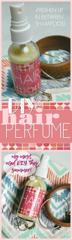 DIY hair scent # colored of the day bricolage Perfume Parfum, Eye Makeup, Homemade Beauty Recipes, Homemade Hair, Deodorant Recipes, Diy Body Scrub, Diy Skin Care, Diy Beauty, Clean Beauty