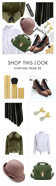 """""""Pack and Go: Winter Getaway"""" by paculi ❤ liked on Polyvore featuring Anja, Topshop and Packandgo"""