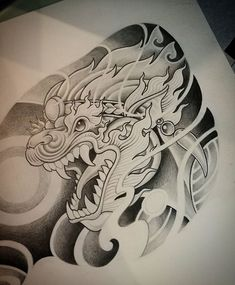Khmer Tattoo, Thai Tattoo, Dragon Eye Drawing, Daruma Doll Tattoo, Cool Tattoo Drawings, Girl Hair Drawing, Sak Yant Tattoo, Thailand Tattoo, Frog Tattoos