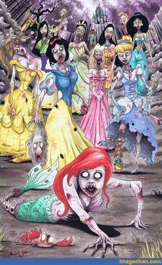Sex i Disney karikatyrerna