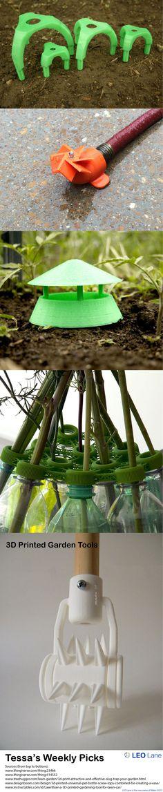 Tessa's Weekly Picks – 3D Printed Garden Tools