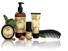 Wen Hair Care by Chaz Dean-I love this stuff! It's all I use now on my hair so my dark brown won't fade fast