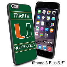 "NCAA U MIAMI HURRICANES , Cool iPhone 6 Plus (6+ , 5.5"") Smartphone Case Cover Collector iphone TPU Rubber Case Black Phoneaholic http://www.amazon.com/dp/B00VVM1LMM/ref=cm_sw_r_pi_dp_pWcmvb0BERRMC"