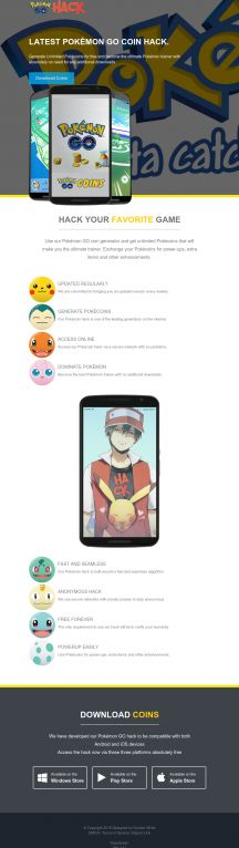 Pokemon Go Coin Generator  Click to purchase