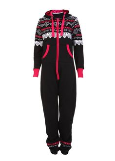 Hearts n Stars Onesie / Black - Womens Clothing Sale, Womens Fashion, Cheap Clothes Online | Miss Rebel