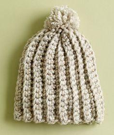 Ravelry: Ripe Wheat Hat pattern by Lion Brand Yarn