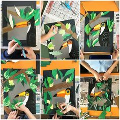 Our Grade 5 artists have finished their oil pastel toucans Lesson inspired by artforkidshub Art For Kids Hub, Kids Art Class, Art Lessons For Kids, Art Activities For Kids, Art Lessons Elementary, Classroom Art Projects, School Art Projects, Art Classroom, Matisse Kunst