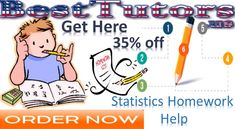 Statistics Homework Help - This satisfied has been written by an institute expert associated with Best Tutors, a reliable portal submission online Algebra Homework Help.