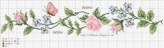 1000 Artes: Gráfico de Flores - Ponto Cruz