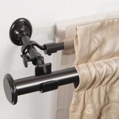 Absolute Zero Blackout Curtains BlockAide Curtain Rod