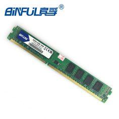 Binful Original DDR3 1066/1333/1600 MHZ PC3-10600 1 GB/2 GB/4 GB/8 GB de Memoria RAM de Escritorio de Intel y AMD Totalmente compatible