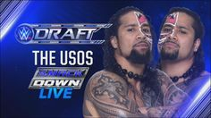 WWE Draft pick #32. The Usos are drafted to SmackDown Live.