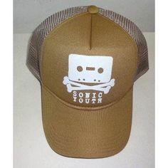 Sonic Youth Cap Trucker Cap Retro Screen 6b012e381d6
