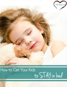 Tips And Tricks For Getting Kids To Sleep At Night. Bedtime can be tricky for parents of adolescents.