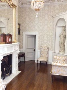 Dolls House Grand Designs, small ladies drawing room