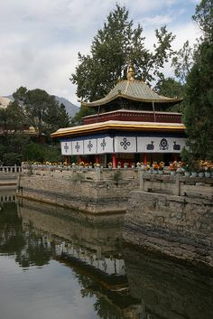 "Norbulingka is a palace and surrounding park in Lhasa, Tibet, built from 1755. It served as the traditional summer residence of the successive Dalai Lamas from the 1780s up until the 14th Dalai Lama's exile in 1959. Part of the ""Historic Ensemble of the Potala Palace"", Norbulingka is recognized as a UNESCO World Heritage Site, and was added as an extension of this Historic Ensemble in 2001."