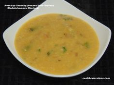 Bombay Chutney, is an easy chutney recipe. Bombay Chutney is a good combination for idli and dosa. Easy Chutney Recipe, Chutney Recipes, Cheeseburger Chowder, Good Food, Soup, Butter, Cookies, Biscuits, Cookie Recipes