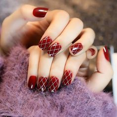 top Wine Nails and Red Nails Polish 2019 Nails Polish, Red Nails, Brown Nails, Red Summer Nails, Nail Art Designs, Nails Design, Wine Nails, Nail Art Hacks, Manicure And Pedicure