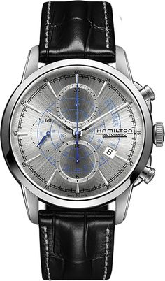 H40656781, , Hamilton railroad auto chrono watch, mens