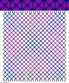 30 strings 32 rows 5 colors