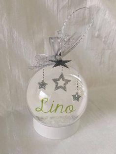 Noël Boule plexi avec photo et texte personnalisable  cadeau