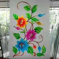Glass Etching Designs, Glass Painting Designs, Paint Designs, Glass Partition Designs, Window Glass Design, Etched Glass Windows, Kitchen Door Designs, Wooden Front Door Design, Pooja Room Door Design